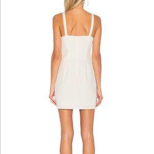 Revolve Square neck mini dress